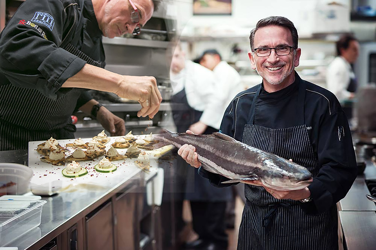 Episode #604 - Sipping with the Godfather of Sustainable Seafood; Rick Moonen