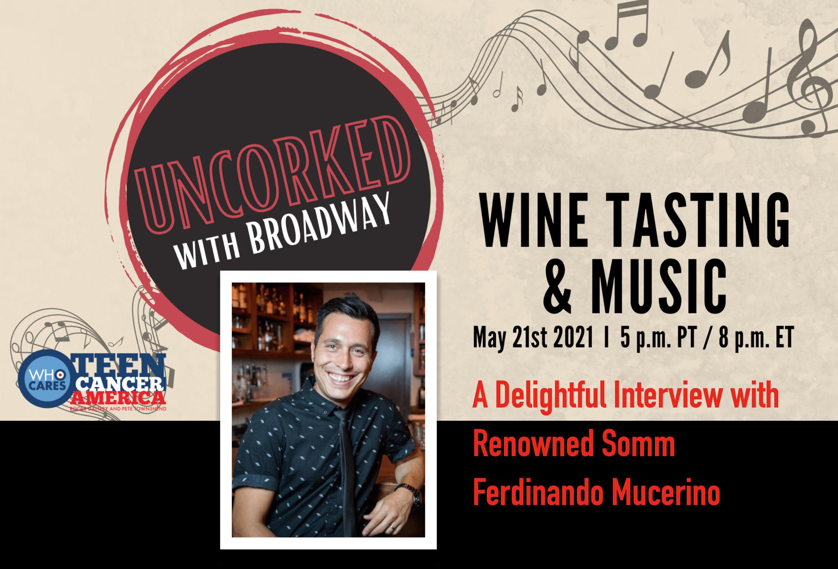 Episode #616 - Uncorked on Broadway With Ferdinando Mucerino